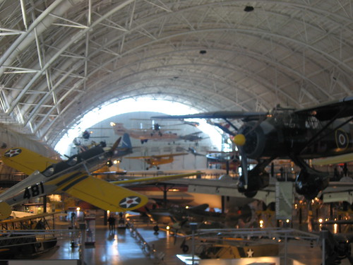 air and space museum - main hanger