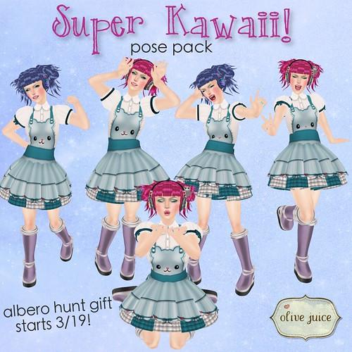 Super Kawaii! Pose Pack