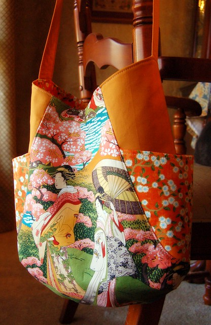 Front of Orange 241 Tote