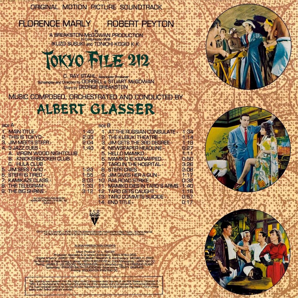 Albert Glasser - Tokyo File 212