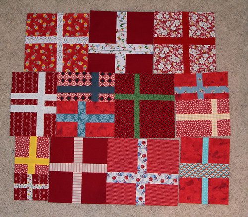Red Cross Blocks