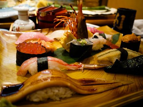 Chef's sushi platter