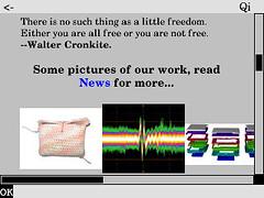 Links Web Browser on Ben NanoNote