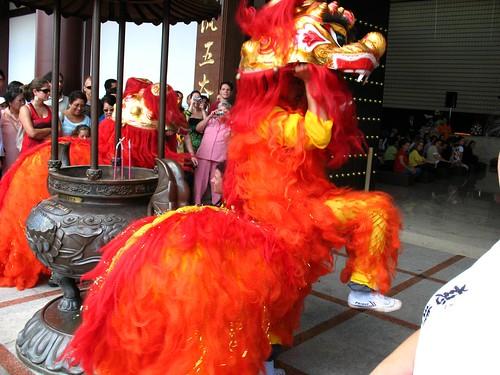 Festa do Ano Novo chinês no Templo Zulai