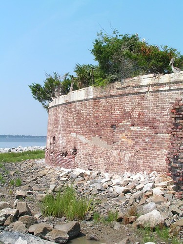 Charleston Harbor, Castle Pinckney