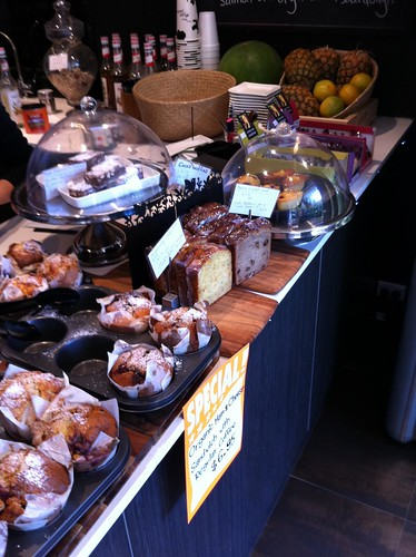 muffins, Icoco Cafe, Milsons Point
