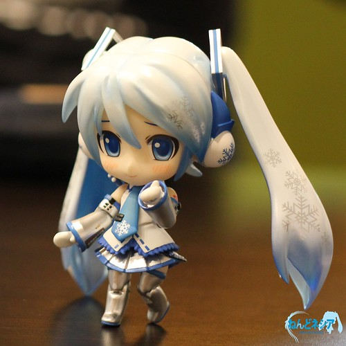 Default pose 3 - my fave expression of Snow Miku SPE ♥▽♥