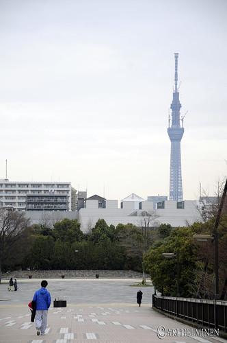 Sky tower 東京 日本。Tokyo Japan. by aginorz