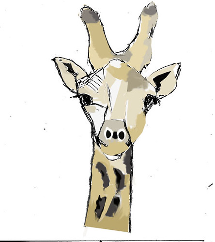 Giraffe - Colored