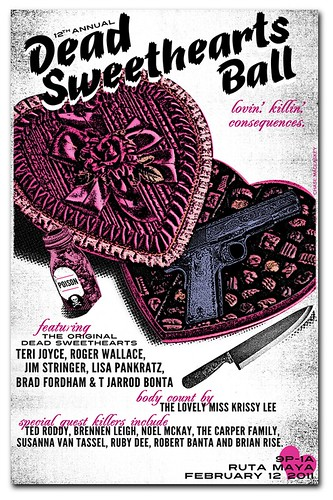 Dead Sweetheart's Ball Poster