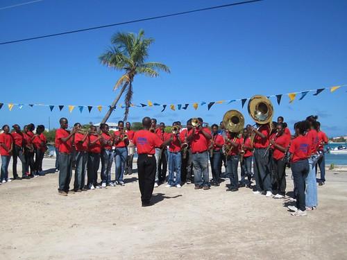 Exuma school band