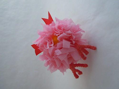 Spun Cotton Chick in skirt detail