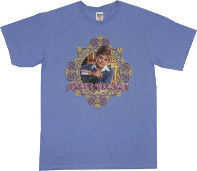 Murder She Wrote My Tee Spot Lavender Logo T Shirt