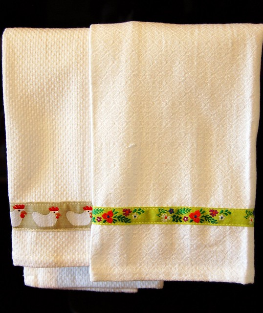 Easy Towel Makeover