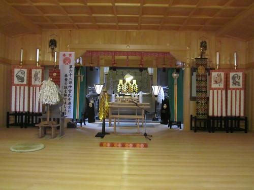 Shrine in Fukuroi