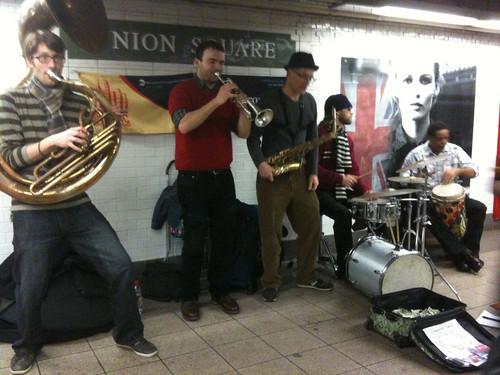 Music Under New York - Union Square