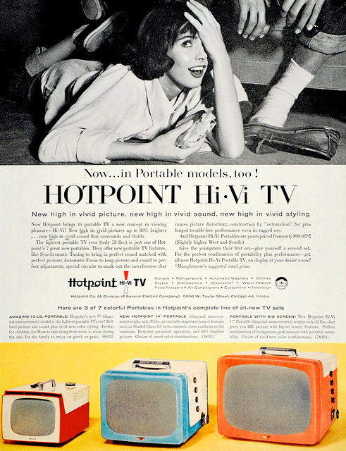 Hotpoint Hi-Vi TV ad (1956)