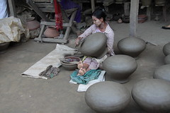 Pot Maker, Yandabo Village, Myanmar