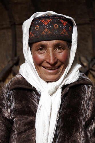 Tajik Lady by Charlie Hall