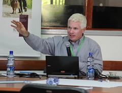 John McDermott  at the AgriGender 2011 workshop, day 2