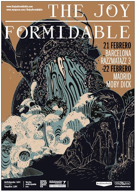 Cartel de The Joy Formidable