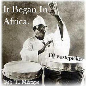 dj wastepicker africa
