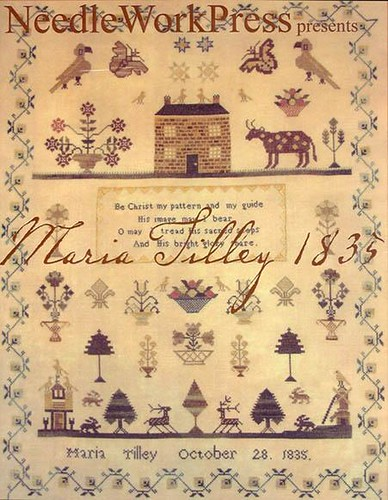 NeedleWork Pres Maria Tilley 1835