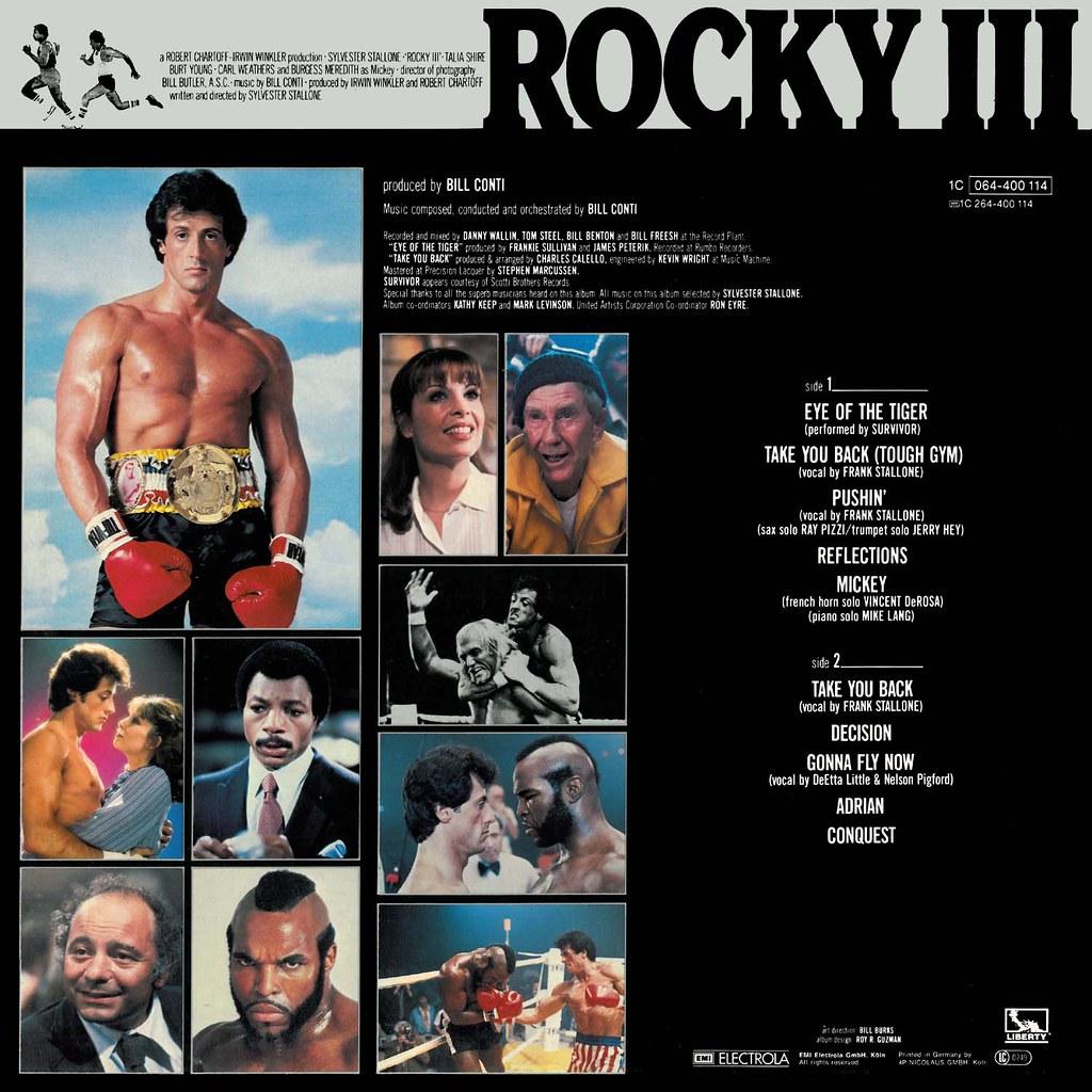 Bill Conti - Rocky III