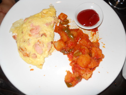 Salmon & Cream Cheese Omelet