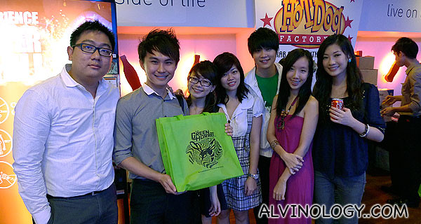 Me with some of the bloggers who attended the screening