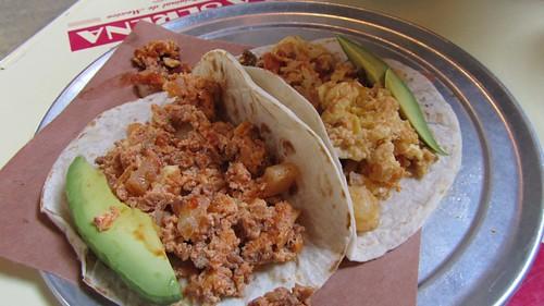 Tacos from Fonda Nolita