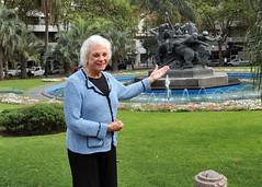 Jueza Sandra D. O'Connor en Montevideo