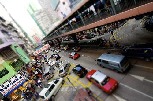 Hong Kong Traffic by Avarine
