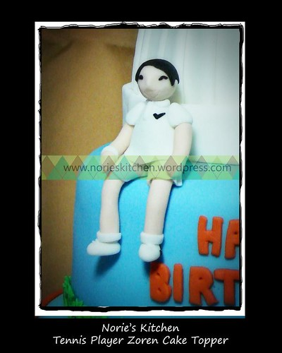 Norie's Kitchen - Zoren Legaspi's Birthday Cake - Tennis Player Zoren Topper