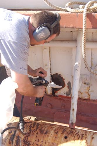 rust hull progress