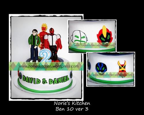 Norie's Kitchen - Ben 10 ver 3 Cake