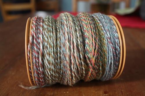 365.56 first sock yarn of 2011