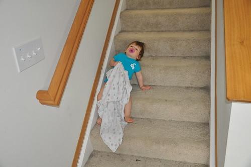 So sleepy, an I go up and take a nap?