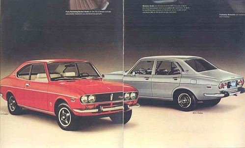 1973 Mazda Brochure page 2