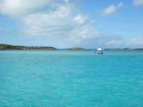 Allen's Cay anchorage