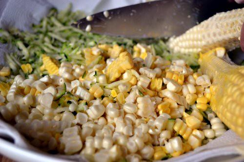 Zucchini and Corn Tortitas
