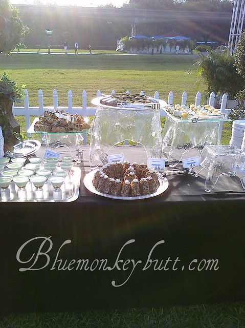 Dessert Table at the Grand Floridian Beach Party Disney Social Media Moms