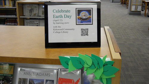 Earth Day Book Display