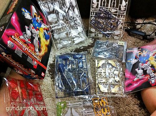 Building 1-60 Shining Gundam HGEX (5)