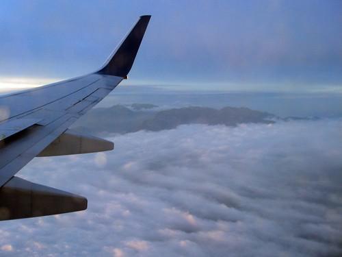 arriving in california