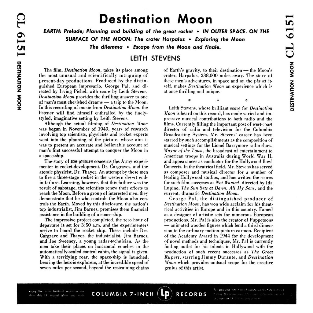 Leith Stevens - Destination Moon