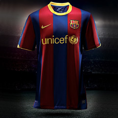 Camiseta 2010-2011 Barça