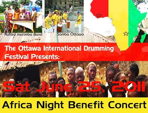 Africa Nigth Benefit Concert