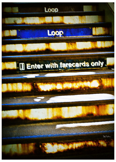 Enter With Farecard Only