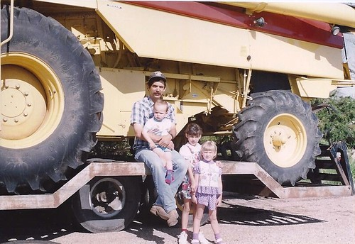 Dad & kids in '94